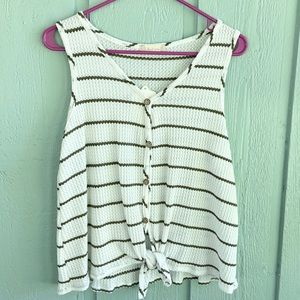 NWT✨Altar'd State Striped Knitted Tank